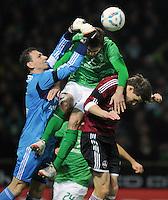 Fussball Bundesliga 2011/12: SV Werder Bremen - 1. FC Nuernberg