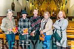 Aidan O'Carroll 'Songs of the Love and Praise' The Sacred Choral with Kerry Chamber Choir, St Marys Cathedral Choir and Kerry Chamber Orchestra led by Kenneth Rice in the Killarney Friary Church last Sunday evening. Pictured l-r Maura McCarthy (Killarney), Colleen Mc Cormack (Camp), Claire Mc Cormack (Camp), Marcella Finn (Camp) and Marie Mc Cormack (Camp)