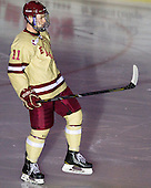 Pat Mullane (BC - 11) - The Boston College Eagles defeated the visiting Northeastern University Huskies 3-0 after a banner-raising ceremony for BC's 2012 national championship on Saturday, October 20, 2012, at Kelley Rink in Conte Forum in Chestnut Hill, Massachusetts.