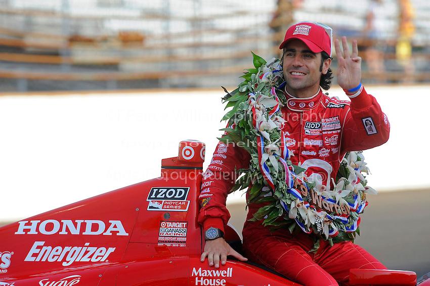 """""""Winner's Photo Shoot"""" 5.28.2012: Dario Franchitti (#50)"""