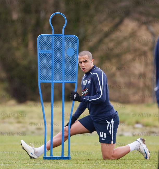 Madjid Bougherra at training