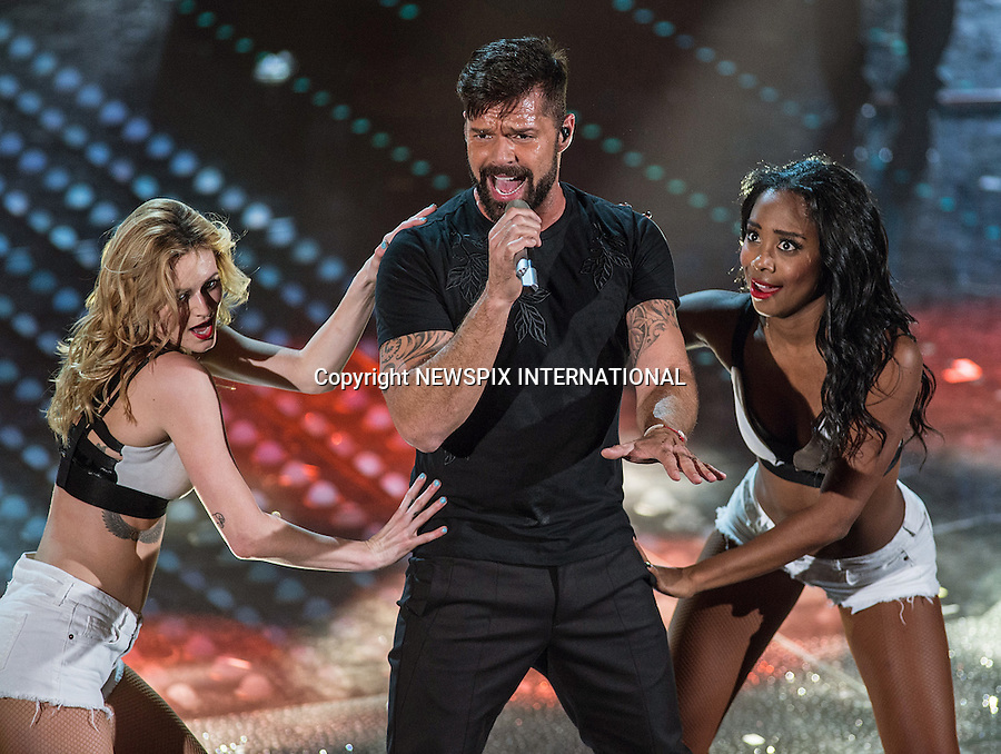 Ricky Martin Performs At The San Remo Music Festival