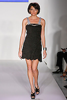 Model walks runway in during the Danilo Gabrielli Spring 2012 fashion show, at Nolcha Fashion Week Spring 2012.