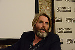 Anthony Loyd Frontline Club 25 June 2014