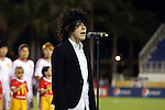15 December 2012: Anthem singer and Warner recording artist L.P. (Laura Pergolizzi). The United States Women's National Team played the China Women's National Team at FAU Stadium in Boca Raton, Florida in a women's international friendly soccer match. The U.S. won 4-1.