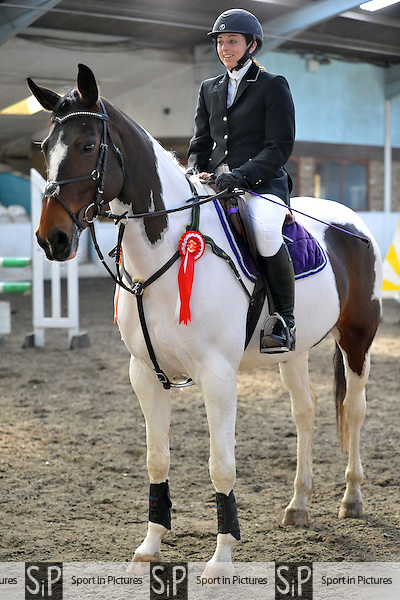 Class 3. Equilibrium Products Discovery. Tuesday British Showjumping (BS) winter schedule. Norton Heath Equestrian Centre. Essex. 04/03/2014. MANDATORY Credit Ellie Ingram/Sportinpictures - NO UNAUTHORISED USE - 07837 394578
