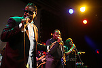 Josh X(Musa Entertainment) performs to packed audience at SOB's on August 27, 2009 in NYC