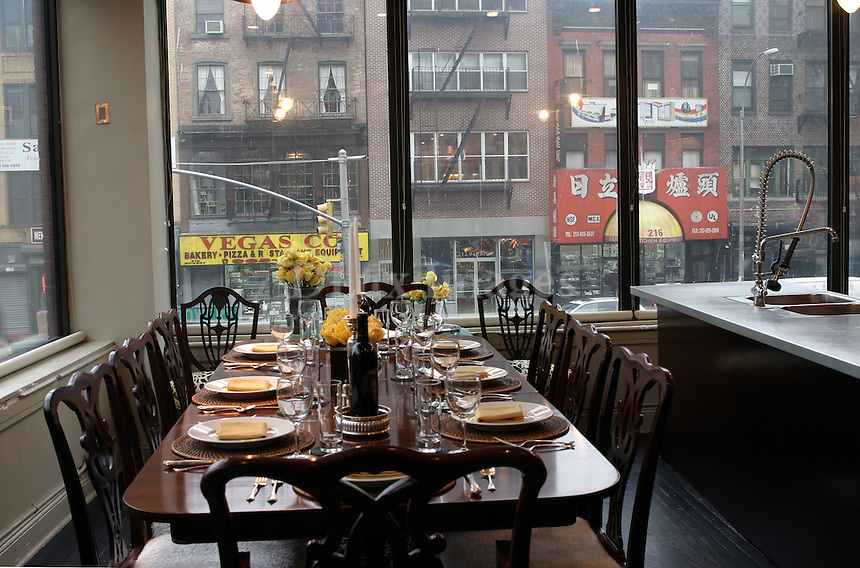 Andy King, the celebrated event planner, who previously lived in luxurious townhouses in Greenwich Village and Soho, became a true urban pioneer when he purchased a rundown space on the Bowery..