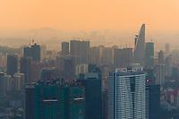 Kuala Lumpur Skyscrapers At Sunset, Malaysia