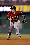 12 July 2008: Houston Astros' second baseman Kazuo Matsui in action against the Washington Nationals at Nationals Park in Washington, DC. The Astros defeated the Nationals 6-4 in the second game of their 3-game series...Mandatory Photo Credit: Ed Wolfstein Photo