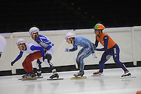 Shorttrack training Thialf 140813 FRA