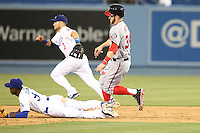 05/13/13 Los Angeles, CA:Washington Nationals left fielder Bryce Harper #34 in a MLB game played between the Los Angeles Dodgers and the Washington Nationals at Dodger Stadium. The Nationals defeated the Dodgers 6-2