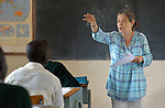 Loreto Sister Maria Suetta teaches at the Loreto Secondary School in Rumbek, South Sudan. The school is run by the Institute for the Blessed Virgin Mary--the Loreto Sisters--of Ireland. Suetta is from Gibraltar.