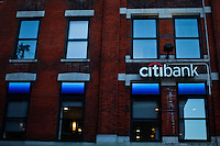 A Citibank branch in New York. 16/10/2012. The Board of Directors of Citigroup announced that Vikram Pandit has stepped down as the Company's CEO and it has unanimously elected Michael Corbat as new CEO and a director of the Board. Photo by Eduardo Munoz Alvarez / VIEWpress.