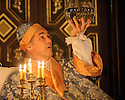 London, UK. 18.02.2015. FARINELLI AND THE KING, by Claire Van Kampen, directed by John Dove, opens in the Sam Wanamaker Studio, at Shakespeare's Globe. Picture shows: Mark Rylance (King Philippe). Photograph © Jane Hobson.