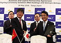 ANA Holdings and Vietnam Airlines Business and Capital Partnership Agreement