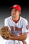 25 February 2007: Washington Nationals pitcher Chris Schroder poses for his Photo Day portrait at Space Coast Stadium in Viera, Florida.<br /> <br /> Mandatory Photo Credit: Ed Wolfstein Photo<br /> <br /> Note: This image is available in a RAW (NEF) File Format - contact Photographer.