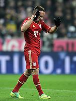 FUSSBALL   1. BUNDESLIGA  SAISON 2011/2012   13. Spieltag FC Bayern Muenchen - Borussia Dortmund        19.11.2011 Franck Ribery (FC Bayern Muenchen)