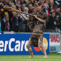 Rugby World Cup Auckland  New Zealand v Argentina Quarter Final 4 - 09/10/2011.Maouri Warrior before the match.Photo Frey Fotosports International/AMN Images