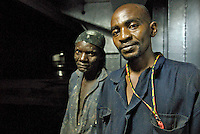 Kenyan members of the 12-strong crew of the MV Rozen, a cargo ship which was hijacked by pirates off the coast of Puntland, Somalia after delivering a consignment of food aid. The ship and its crew were freed after forty days.