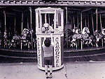 Carousel at Coney Island in Brooklyn, NY in 1978.no release