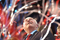 NEW YORK, NY - September 2, 2004:  Vice President Dick Cheney onstage following George W. Bush's presidential nomination acceptance speech at the Republican National Convention.
