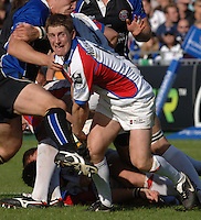 20,05/06 Powergen Cup Bath Rugby vs Bristol Rugby, Greg Nicholls.  Bath, ENGLAND, 01.10.2005   © Peter Spurrier/Intersport Images - email images@intersport-images..