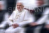 Austrian Pope Benedict XVI during the visit to the Stift Heiligenkreuz abbey.September.9,2007