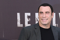 L'attore statunitense John Travolta posa durante il photocall per la presentazione del film &quot; Le Belve&quot; a Roma, 25 settembre 2012..U.S. actor John Travolta poses during a photocall for the presentation of the movie &quot;Savages&quot; in Rome, 25 September 2012..UPDATE IMAGES PRESS/Isabella Bonotto