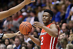 11 November 2016: Marist's Brian Parker. The Duke University Blue Devils hosted the Marist College Red Foxes at Cameron Indoor Stadium in Durham, North Carolina in a 2016-17 NCAA Division I Men's Basketball game. Duke won the game 94-49.