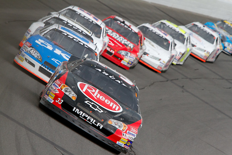 17 June 2011: Cale Gale leads the pack in the ARCA RainEater Wiper Blades 200 at Michigan International Speedway in Brooklyn, Michigan. (Photo by Jeff Speer :: SpeerPhoto.com)