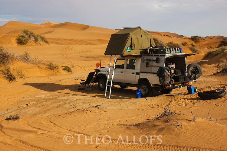Camping In Sand Dunes Theo Allofs Photography