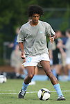 29 August 2008: UNC's Ryan Adeleye. The University of North Carolina Tar Heels defeated the Florida International University Panthers 3-0 in overtime at Fetzer Field in Chapel Hill, North Carolina in an NCAA Division I Men's college soccer game.