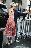 NEW YORK, NY-September 16:Miley Cyrus at Today Show to talk about her new Amazon series A Crisis in Six and the Voice in New York. September 16, 2016. Credit:RW/MediaPunch