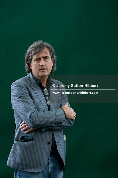 Sebastian Barry, Irish author, playwright, poet, at the Edinburgh International Book Festival, Edinburgh, Scotland, on Friday 28th August 2009. Barry was the winner of the 2009 James Tait Award for writing.