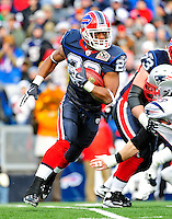 20 December 2009: Buffalo Bills' running back Fred Jackson in action against the New England Patriots at Ralph Wilson Stadium in Orchard Park, New York. The Patriots defeated the Bills 17-10. Mandatory Credit: Ed Wolfstein Photo