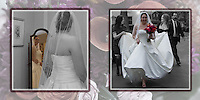 7th & 8th pages of one of the wedding albums we offer, designed, printed and bound by Ron Pradetto Photography.