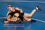 12 MAR 2011:  Jon Sundgren of St. Cloud State wrestles Dillon Bera of Wisconsin-Parkside during the Division II Men's Wrestling Championship held at the UNK Health and Sports Center on the University of Nebraska - Kearney campus in Kearney, NE.   Sundgren defeated Bera 3-0 to win the157-lb national title Corbey R. Dorsey/ NCAA Photos