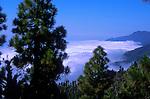 Clouds and mist over Caldera de Taburiente. La Palma, Canary Islands, Spain