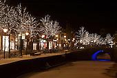 Leeuwarden, sfeerverlichting in het centrum | Lightning in the center of Leeuwarden