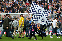 Millwall fans on the pitch at the end of the match to celebrate their victory during Bradford City vs Millwall, Sky Bet EFL League 1 Play-Off Final at Wembley Stadium on 20th May 2017