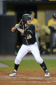 Central Florida Knights outfielder Bret Gordon (36) during the season opening game against the Siena Saints at Jay Bergman Field on February 14, 2014 in Orlando, Florida.  UCF defeated Siena 8-1.  (Copyright Mike Janes Photography)