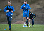 St Johnstone Training&hellip;.20.01.17<br />David Wotherspoon pictured during training this monring ahead of tomorrow&rsquo;s Scottish Cup game against Stenhousemuir.<br />Picture by Graeme Hart.<br />Copyright Perthshire Picture Agency<br />Tel: 01738 623350  Mobile: 07990 594431