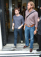 Celebrity Spotting Radio 2 London 22 August 2014