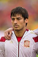 David Silva of Spain