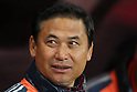 Sasaki Norio Head Coach (JPN), .April 1, 2012 - Football / Soccer : .KIRIN Challenge Cup 2012 .Match between Japan 1-1 USA .at Yurtec Stadium Sendai, Miyagi, Japan. .(Photo by Daiju Kitamura/AFLO SPORT) [1045]..
