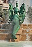 Swann Memorial fountain in down town Philadelphia