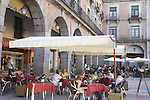 Plaza Mercado Chico Square in the historical centre of Avila, Castile and Leon, Spain