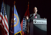 NWA Democrat-Gazette/BEN GOFF @NWABENGOFF<br /> Trey Gowdy, U.S. Rep. (R-S.C.), makes the keynote speech Thursday, April 20, 2017, during the Winthrop Paul Rockefeller Distinguished Lecture Series presented by the United States Marshals Museum at the Fort Smith Convention Center in Fort Smith.