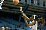 25 November 2012: North Carolina's Xylina McDaniel. The University of North Carolina Tar Heels played the UNC Asheville Bulldogs at Carmichael Arena in Chapel Hill, North Carolina in an NCAA Division I Women's Basketball game. UNC won the game 101-42.